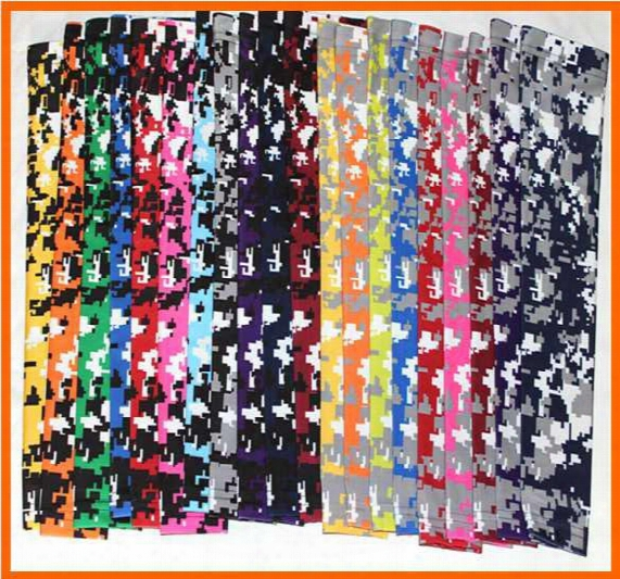 Digital Camo Compression Sports Arm Sleeve Moisture Wicking Softball, Baseball Arm Sleeve For Youth And Adult