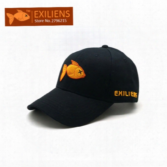 [exiliens] 2017 New Fashion Brand 100% Cotton Snapback Caps Strapback Baseball Cap Bboy Hip-hop Hats For Men Women Fitted Hat