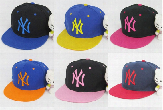 Free Shipping Adjustable Snapbacks Hats Snapback Ny Baseball Caps, Adjustable Flat Hat Hip Hop Dance Lovers Women And Men Baseball Cap