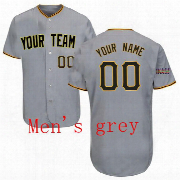 Fully Custom Jersey Personalized Jersey Baseballl Jersey (all Name Number Sitched)