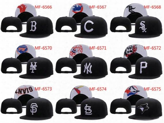 Hot New Men's Women's Basketball Snapback Baseball Snapbacks All Teams Football Hats Mens Flat Caps Adjustable Cap Sports Hat Mix Order