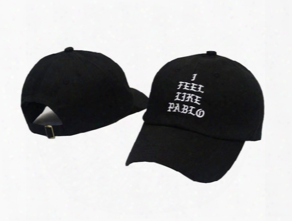 I Feel Like Pablo Hats Baseball Caps 2016 Snapback Hats Hip Hop Fashion Sports Cap