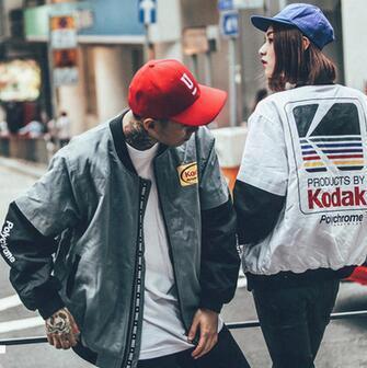 Kanye West Jacket Ma1 Bomber Jacket Pilot Jackets Fashion Men's Baseball Uniform Jacket Hip Hop Sport Suit Parkas
