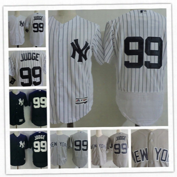 Mens New York Yankees Aaron Judge Cool Base Baseball Jerseys #99 Aaron Judge Ny Yankees 2017 Mlb All-star Game Flex Base Jersey S-3xl