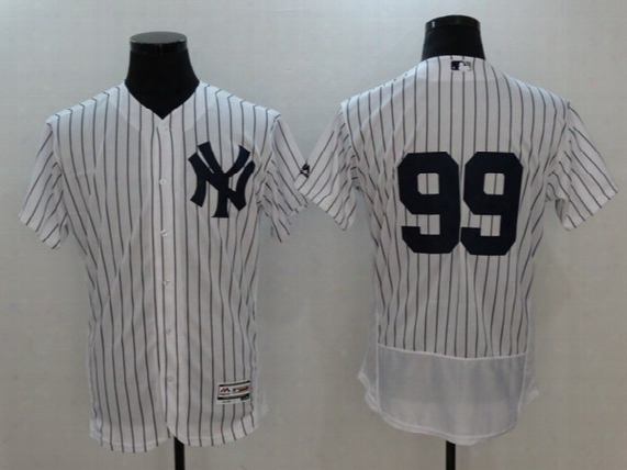 Ne 2017 Basbeall Jerseys Yankees #99 Judge Jersey White Home And Gray Color Team Jersey Stitched Size 40-56 Mix Order All Jerseys