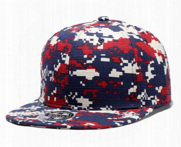 New Arrival Fashion Baseball Caps Adjustable Camouflage Snapback Hats Sports For Men Women Mixed Order High Quality