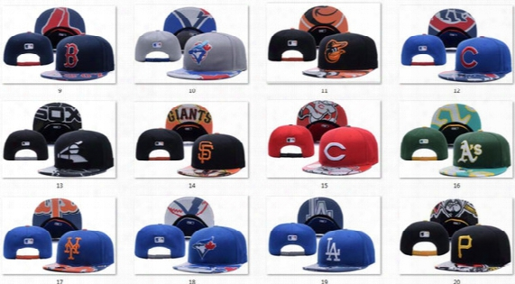 New Caps Baseball Snapback Hats Leather Cap All Color Team Hats Mix Match Order All Caps In Stock Top Quality Hat Wholesale