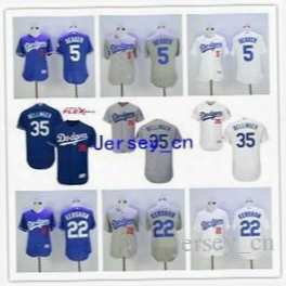 Sales Promotion Corey Seager Jersey Kershaw Cody Bellinger Los Angeles Dodgers Baseball Jersey Flexbase White Blue Grey