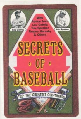 Secrets Of Baseball