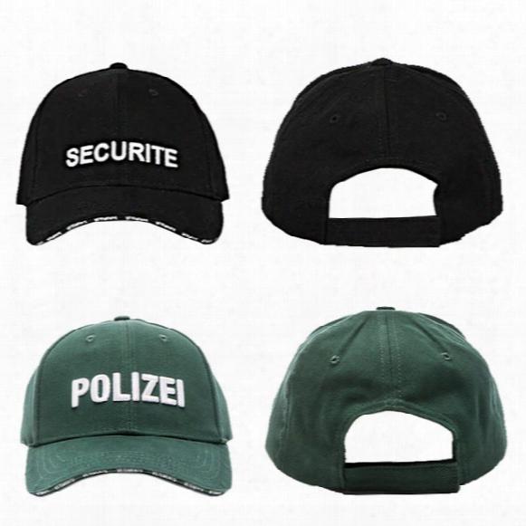 Security Embroidery Vetements Baseball Cpas Men 2017 Newest Fashion Green Hats Hip Hop Streetwear Snapback Cap Man Summer Hats