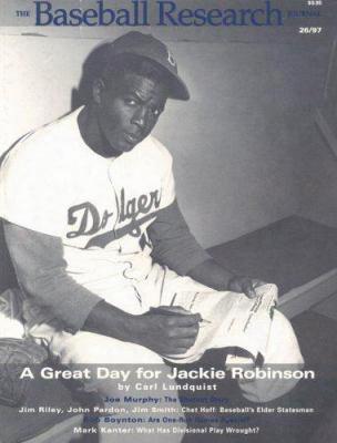 The Baseball Research Journal (brj), Volume 26