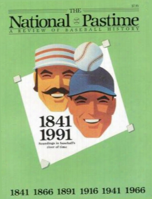 The National Pastime, Volume 11: A Review Of Baseball History