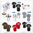 2016 stitched baseball jersey Chicago White Sox Baseball Jerseys 1985 1993 Red 1990 Throwback 72 Carlton Fisk 53 Melky Cabrera 49 Chris Sale