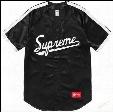 Chao supremesu Justin Bibb street Justin Bieber baseball uniform short sleeved T-shirt with a couple