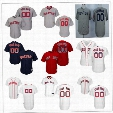 Customized Boston Red Sox Mens Womens Youth Kids Gray Road White Navy Blue Personalized Sewn On Your Own Name Number Jerseys S,4XL