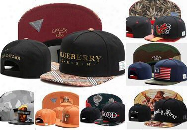 Wholesale Cayler & Sons Baseball Caps Brooklyn Embroidery Hats Snapback Caps Adjustable Dad Hats For Men Bones Snapbacks Bone Gorras Cap