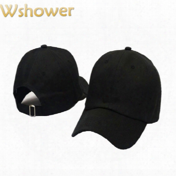 Wholesale- Which In Shower Cheap Casual Snapback Plain Cap Women Men Hip Hop Blank Baseball Hat Solid Color Trucker Dad Hat Bone Gorras