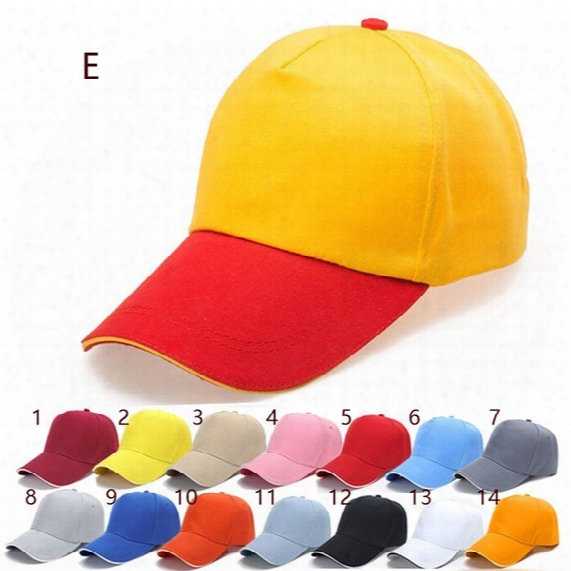 2017 Diy Embroidered Baseball Cap Advertising Five Polyester Hat Custom Duck Tongue Wholesale Printing Custom Logo