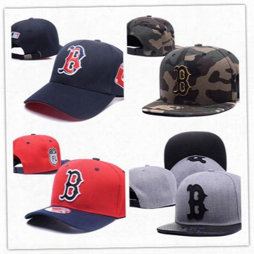 2017 New Style Wholesale Fashion Boston Red Sox Baseball Cap Front Logo Alternate Fitted Hats Wicks Away Sweat Adult Sport Men Women Caps