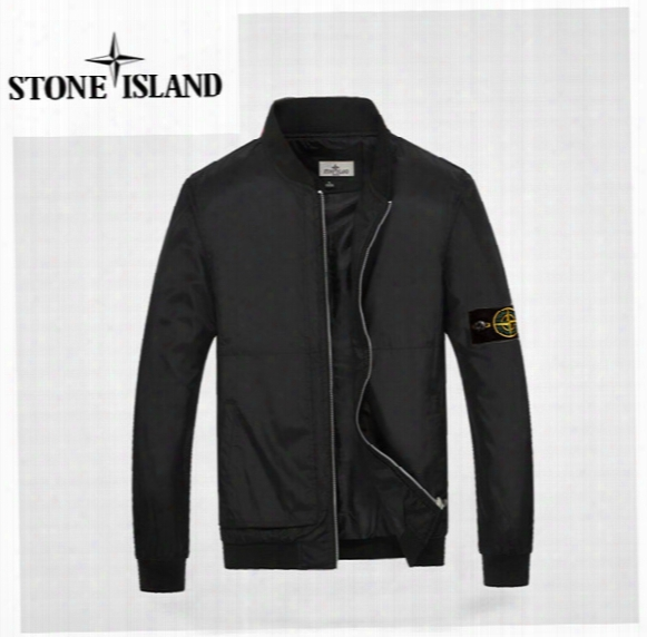 2017 Spring New Teen Baseball Shirt Korean Version Of Casual Men's Island Jacket Thin Models Hot Sale Stone Jackets #8227