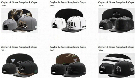 2017 Summer Caps Snapbacks Hat Free Shipping Cayler And Sons Snapback Hats Snapbacks Caps Snap Back Hat Baseball Basketball Fitted Cap