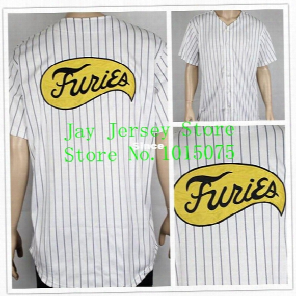 30 Teams- Stitched Furies Baseball Jersey Sport Movie Uniform The Warriors Costume
