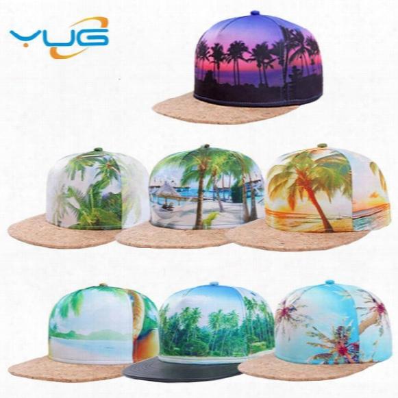 3d Printing Patterns Sports Cap Baseball Cap Type Men And Women Fashion Street Back Hat Fashion Hip-hop Variety Of Styles