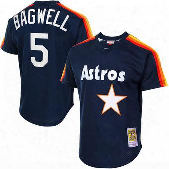 #5 Jeff Bagwell Throwback Houston Astros Jersey Jeff Bagwell Throwback Baseball Jersey All Stitched Embridery Baseball Jersey