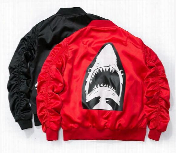 Air Force Shark Jackets For Men Women Bomber Jacket Hip Hop Jaqueta Softshell Outdoor Streetwear Baseball Skateboard Sport Biker Jacket