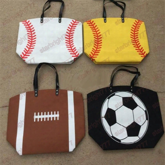 Baseball Football Totes Basketball Handbag Large Capacity Volleyball Bags For Travel Storage Handbags High Quality