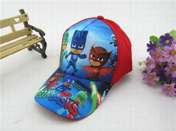 Boys And Girls Cartoon Cap Kids Baseball Cap Adjustable 52~54cm Troll Moana Ball Cap Chirldren Ball Snapbacks Hat Best Gifts For Boy&girls