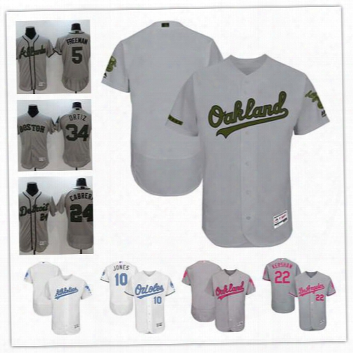 Customized Oakland Athletics White Gray 2017 Father Mother Memorial Day Sewn On Any Name Number Mens Flex Base Baseball Jerseys S-4xl