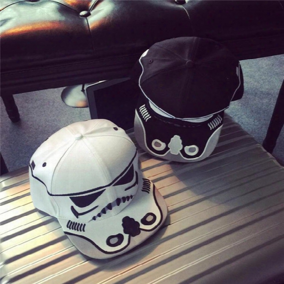 Fashionable Star Wars Snapback Baseball Caps Prettybaby Darth Vader Stormtrooper Ball Cap Hats Christmas Gift Short Caps