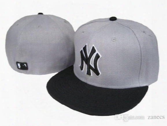 Free Shipping Design Pattern Mlb Yankees Classic Collection Baseball Cap Front Embroidery On Field Fitted Hat