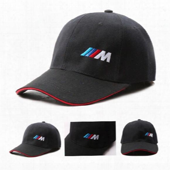 Good Quality Men Fashion Cotton Car Logo M Performance Baseball Cap Hat For Bmw M3 M5 3 5 7 X1 X3 X4 X5 X6 330i Z4 Gt 760li E30 E34 E36 E38