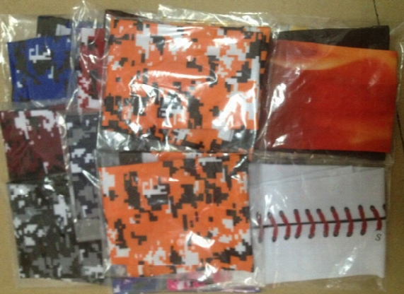 Hot!baseball Football Blue, Orange, Pink, Black, White, And So On A Variety Of Colors Stitching Wicking Compression Sports Arm Sleeve