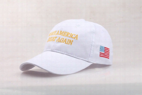 Make America Great Again Baseball Cap Fashion Cap With Embroidery Logo Qty Over 500pcs Logo Free For 1color 1 Position