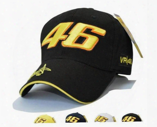 Men And Women Fashion Star Signature Rossi Vr46 Digital Embroidery Baseball Cap Racing Motorcycle Hat Movement