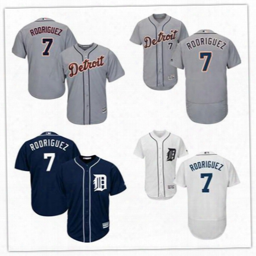 Mens Detroit Tigers #7 Ivan Rodriguez Retried 2017 Hall Of Faame Patch Gray Road White Navy Blue 2004 Cooperstown Stitched Baseball Jerseys