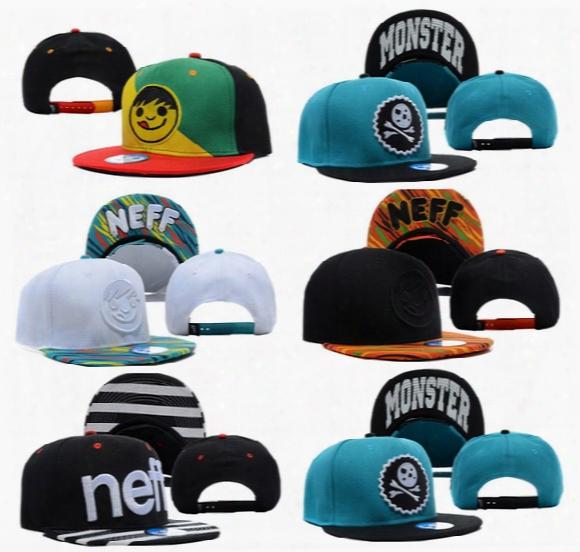 Neff Panel Hats Street Corpo Cap Snapback Hip Hop Casquette Ball Sport Strapback Gorras Summer Men  Fashion Baseball Woman Streetwear Sun