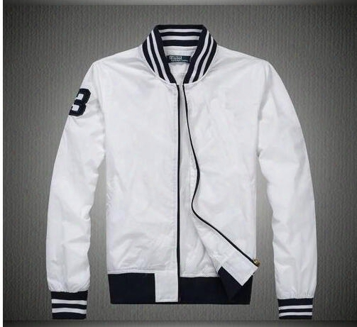 New 2017 Men's Bomber Jacket Men Off White Back Letter Printing Baseball Collar Jackets Autumn Black Polo Shirt Slim Fit Windbreak Coat