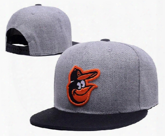 New Mlb Baltimore Orioles Snapback Baseball Hats Embroidery Front Logo Altenate O'a On-field Adjustable Caps Lh