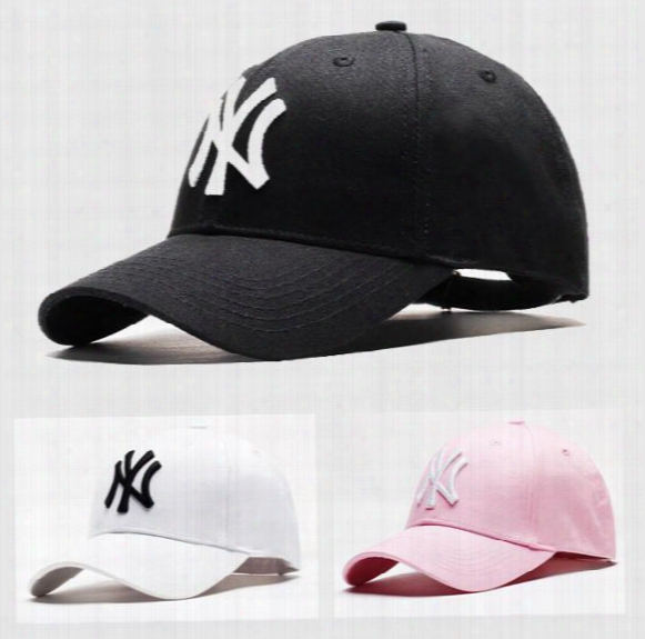 New Wholesale Ny Women Men Snapback Baseball Cap Classical 3 Colors Free Shipping Dhl