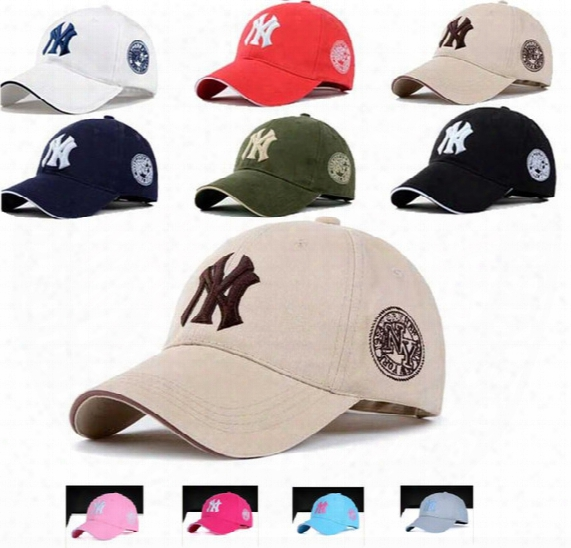 Newest 10 Colors Yankees Hip Hop Snapback Baseball Caps Ny Hats Mlb Unisex Sports New York Women Casquette Men Casual Headware Hunting Hat