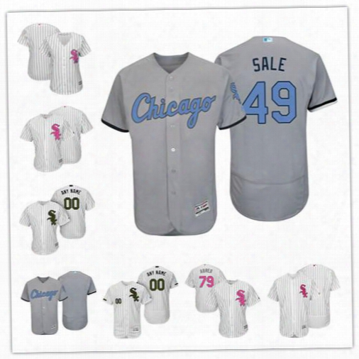 Personalize Cool Flex Base Chicago White Sox Custom Men Women Youth 2017 Memorial Father's Mother's Day Baseball Jerseys 79 Jose Abreu S,4xl