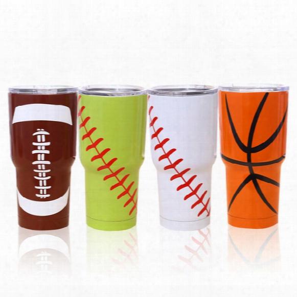 Sf_express Baseball Softball Basketball American Football 30oz Cup Tumbler Vacuum Insulated Beer Mug Stainless Steel Mug (7)