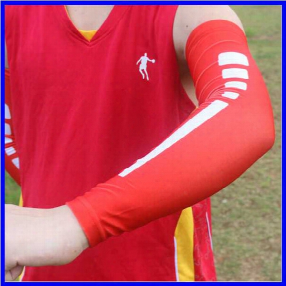 Sports Compression Arm Sleeves Youth Adult Baseball Football Basketball Free Dhl