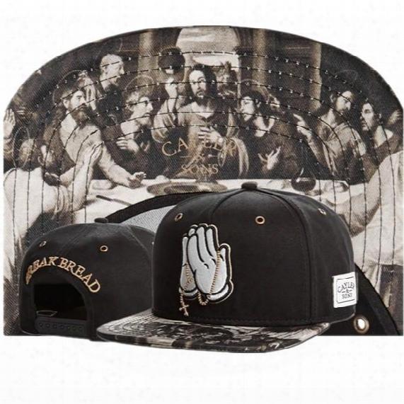 Swag Style Brand Cayler And Sons Son Snapback Caps Hip Hop Cap Baseball Hat Hats For Men Women Bones Snapbacks Bone Gorras