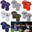 56 Greg Holland Men's 2017 Colorado Rockies Custom Jersey 27 Trevor Story 64 Rayan Gonzalez 55 Jon Gray 34 Jeff Hoffman 28 Arenado Jerseys