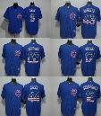 Chicago Cubs USA Flag Jersey 17 Bryant 9 Baez 12 Schwarber 22 Heyward 44 Rizzo 49 Arrieta Blue mlb baseball jerseys 100% Stitched